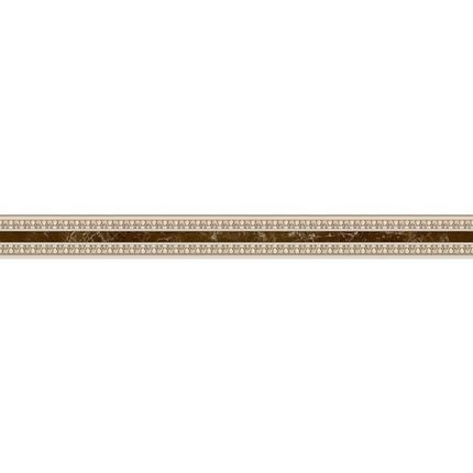Фриз InterCerama Emperador узкий коричневый / 4,5Х50 бу 66 031, фото 2