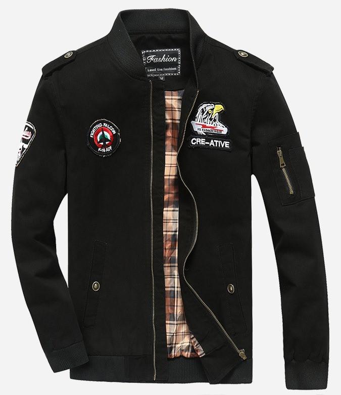 Fighting Falcon original 100% бавовна чоловіча мілітарі куртка вітровка