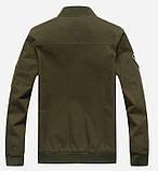 Fighting Falcon original 100% бавовна чоловіча мілітарі куртка вітровка, фото 5