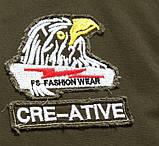 Fighting Falcon original 100% бавовна чоловіча мілітарі куртка вітровка, фото 7