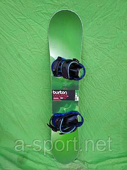 Сноуборд бу Burton LTR 130 см +  кріплення Burton