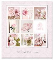 Свадебный фотоальбом EVG на 400 фото10x15  wedding pastel
