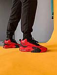 Мужские кроссовки Nike Air Max Speed Turf Red Black. Живое фото (Реплика ААА+), фото 3