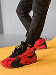 Мужские кроссовки Nike Air Max Speed Turf Red Black. Живое фото (Реплика ААА+), фото 5