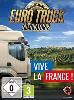Euro Truck Simulator 2 - Vive la France ! DLC (PC) Электронный ключ