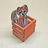 Подставка для столовых приборов Краб, фото 9