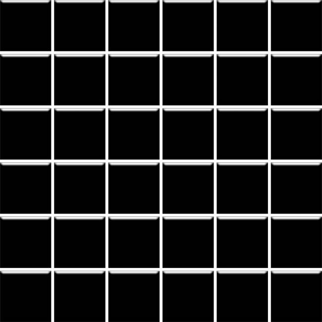 Мозаика Paradyz Altea Nero 30x30 (4.8x4.8)