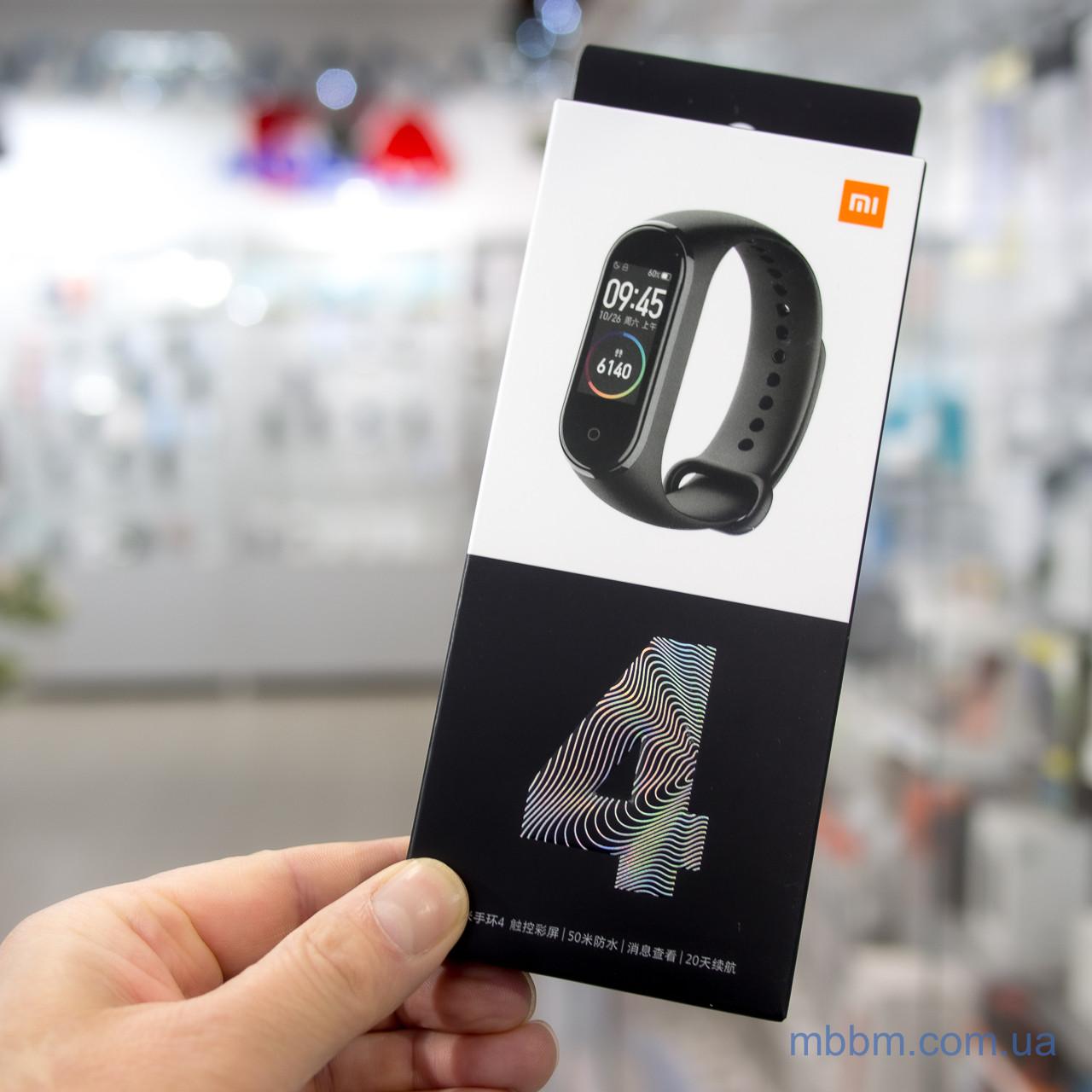 Фитнес-браслет Xiaomi Mi Band 4 [CN] Оригинал! (MGW4050CN) EAN/UPC: 6934177710193 Черный