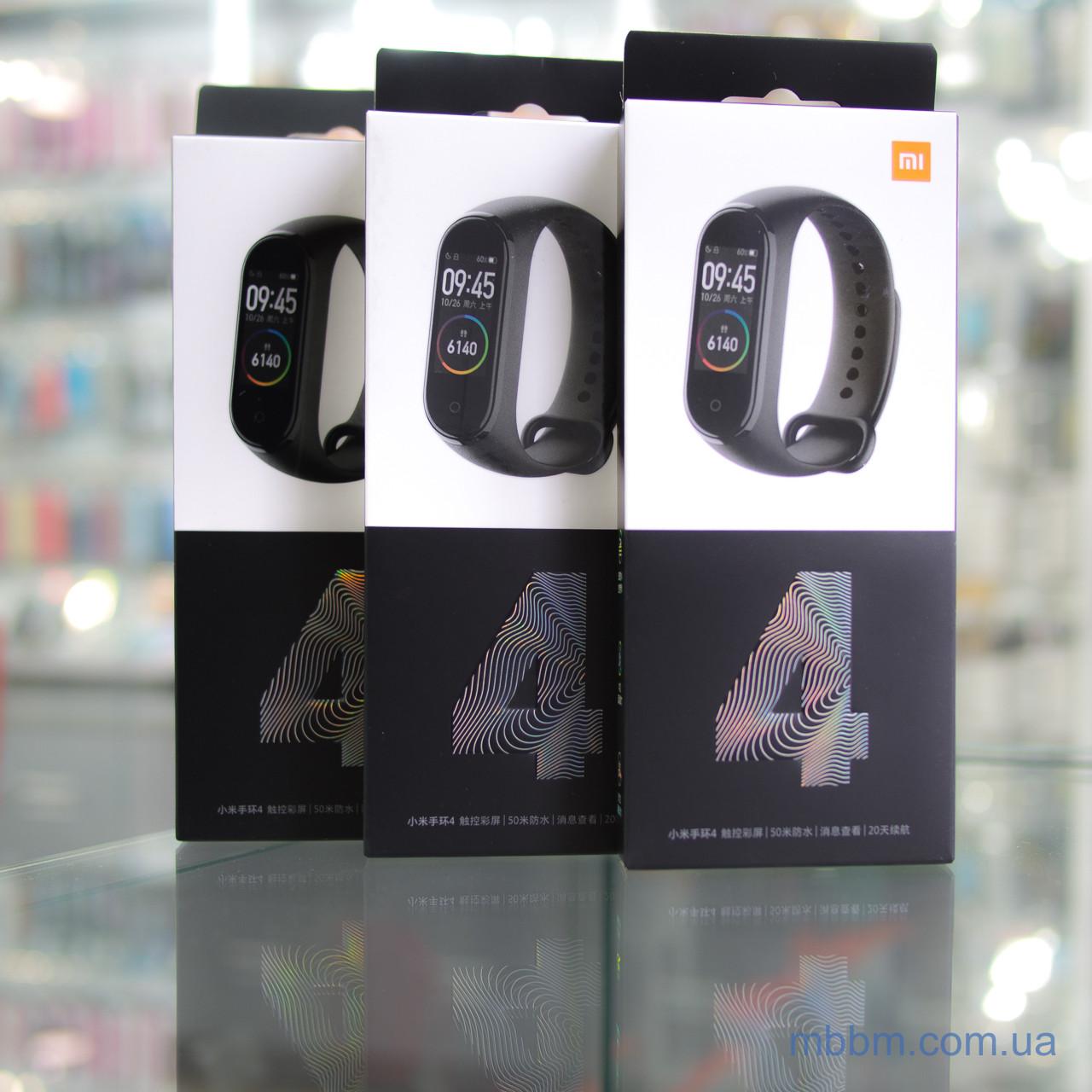 Фитнес-браслет Xiaomi Mi Band 4 Оригинал! Умные браслеты Android Bluetooth Пульсометр Будильник
