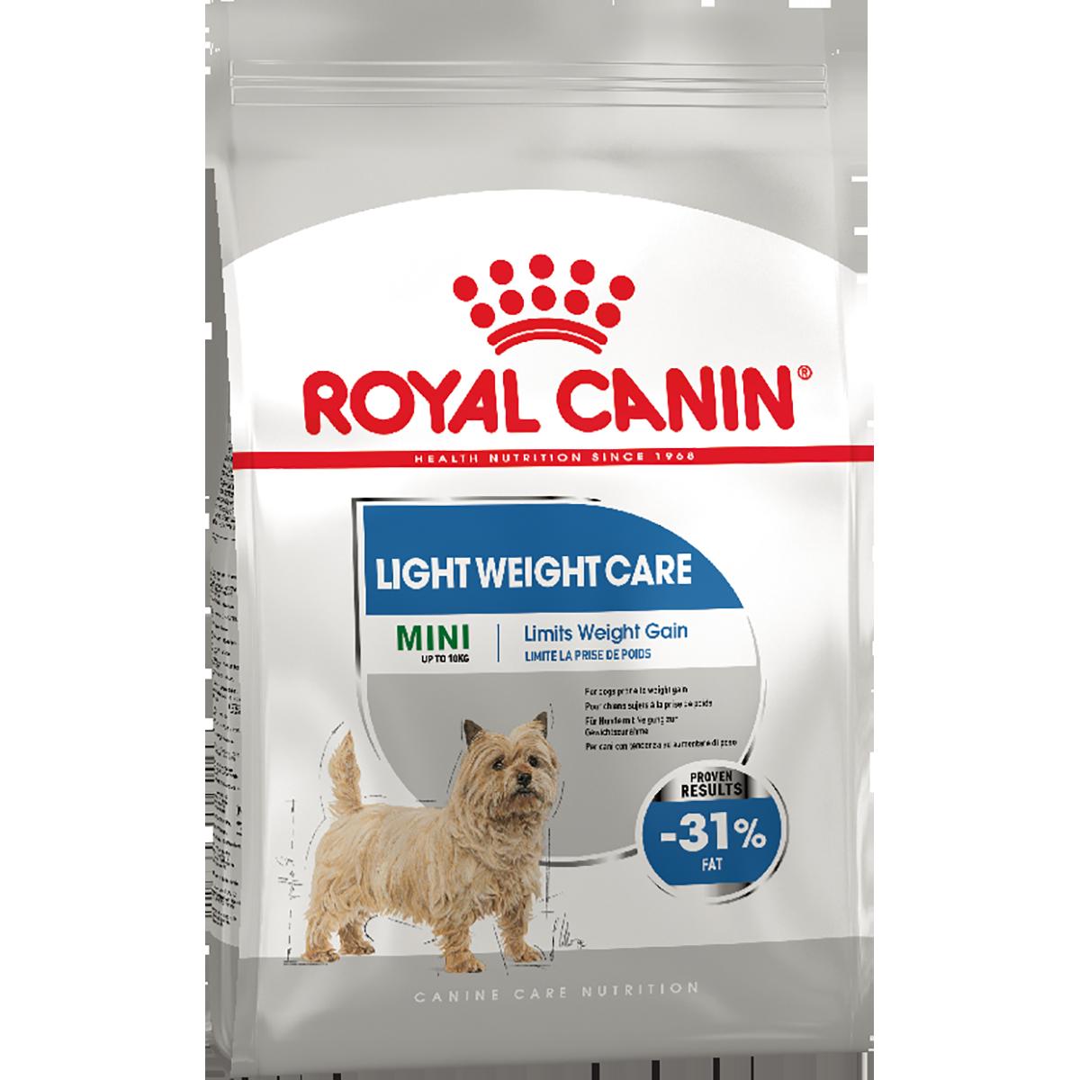 Сухой корм для собак Роял Канин LIGHT WEIGHT CARE MINI, 1 кг