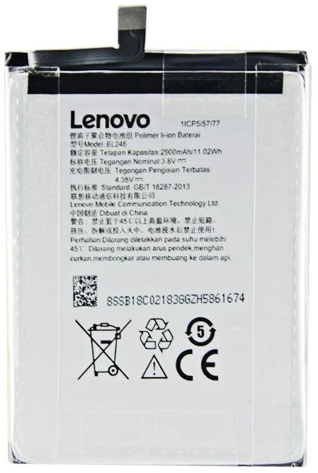 АКБ оригинал Lenovo BL246 Z90 Vibe Shot