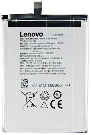 АКБ оригинал Lenovo BL246 Z90 Vibe Shot, фото 2