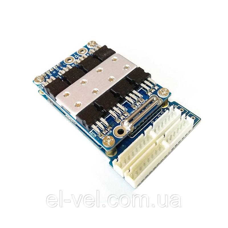 BMS 48В 13S-17A для літій-іонних і літій-полімерних акумуляторних батарей
