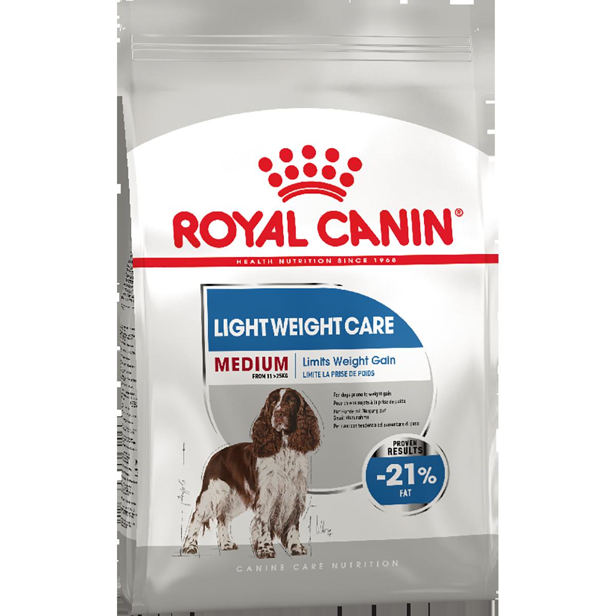 Сухой корм для собак Роял Канин LIGHT WEIGHT CARE MEDIUM,  3 кг