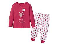 """Пижама розовая """"Монстрик""""  светится в темноте Lupilu  р.98/104, фото 1"""