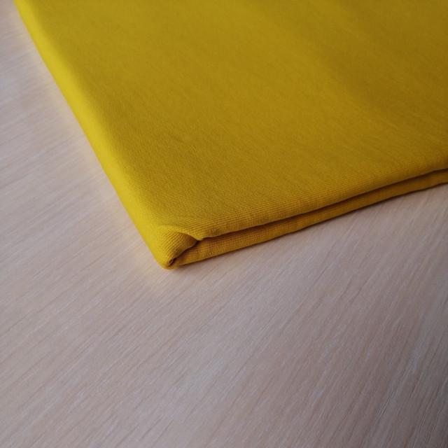 купить ткань футер горчица в нашем магазине