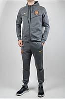 Зимний теплый спортивный костюм Nike. Утепленные штаны и кофта. Чоловічий, зимовий спортивний костюм найк.