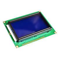 Экран LCD  12864 синий ST7920  дисплей Display с подсветкой 128 × 64