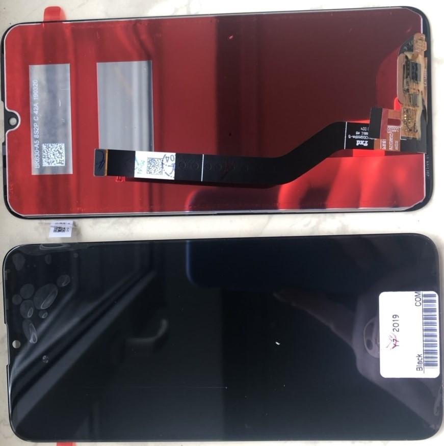 Дисплей для Huawei Y7 Prime 2018 модуль в сборе с тачскрином, черный, high copy