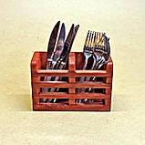 Лоток для столовых приборов Фита, фото 4