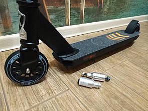Трюковый самокат, усиленный Explore MYSTIQUE  Колесо 110 мм + 2 пеги!