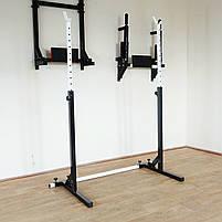 Лавка регульована для жиму (до 250 кг) зі Стійками (до 200 кг). Штанга 75 кг, фото 8