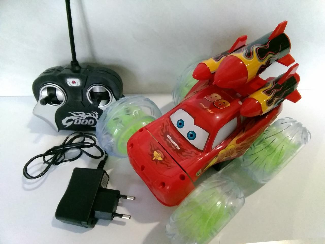 Машина детская Тачки на радиоуправлении.Игрушка машина на батарейках.