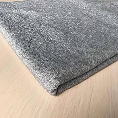 Ткань Ангора серая люрекс ширина 160см.