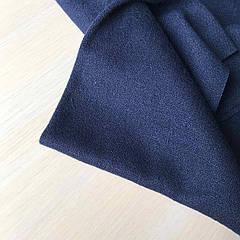 Ткань Ангора синяя ширина 160см.
