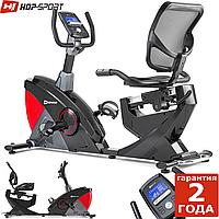 Горизонтальний велотренажер Hop-Sport HS-070L Helix Red iConsole+ до 150 кг. Гарантія 24 міс.