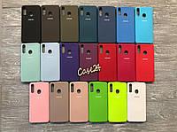 Чехол Soft touch на Samsung Galaxy A20S (20 цветов)