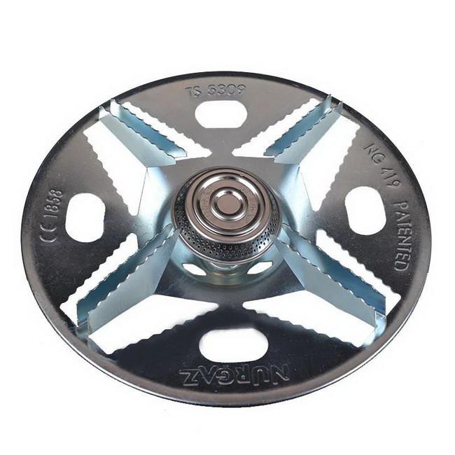 Горелка для газовых баллонов Nurgaz-419 (2.5кВт, 0.18кг/ч)