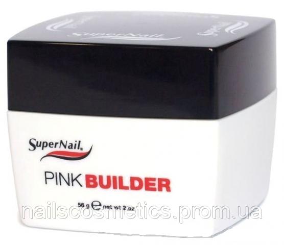 Pink Gel SuperNail 56 g конструирующий розовый полупрозрачный гель