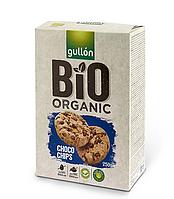 Печиво GULLON BIO Choco Chips , 250г, (12шт)