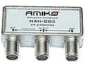 TV/SAT диплексер - для совмещения спутникового и эфирного сигнала SAT-TV AMIKO  набор комплект, фото 2