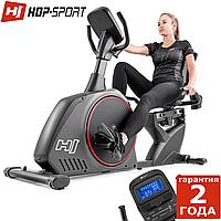 Горизонтальный велотренажер Hop-Sport HS-095L Scale Grey