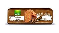Печиво GULLON Cinnamon crisps, хрустке печиво з корицею, 235 г (15шт)