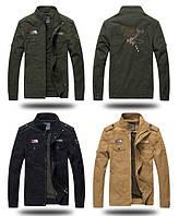 H.T.N.SHI original 100% хлопок мужская милитари куртка ветровка, фото 1