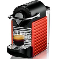 Кофемашина Nespresso DeLonghi Pixie Electric Red +доставка бесплатно