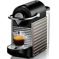 Кофемашина Nespresso DeLonghi Pixie Electric Titan +доставка бесплатно