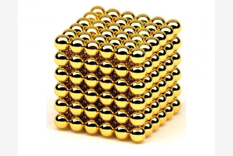 Игрушка-головоломка Neo Cube, gold