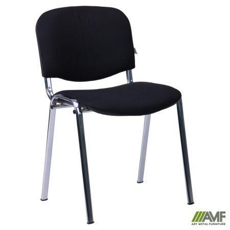 Офісний стілець Ізо хром/алюмінієвий каркас/тканина А AMF