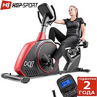 Горизонтальный велотренажер Hop-Sport HS-095L Scale Red