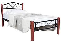 Кровать Лара Люкс Вуд односпальная ТМ Melbi, фото 1
