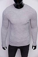 Свитер мужской теплый Figo 6758-3 серый