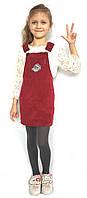 Вельветовый сарафан р.122-140 см детская девочка