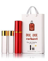 Cacharel Amor Amor edt 3х15ml мини парфюм в подарочной упаковке
