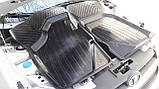 Резиновые коврики ВАЗ Калина 1118 2004- (седан) БРТ, фото 2