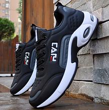 Кроссовки в стиле Fila черные