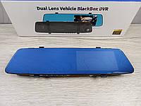 Автомобильное зеркало регистратор с двумя камерами